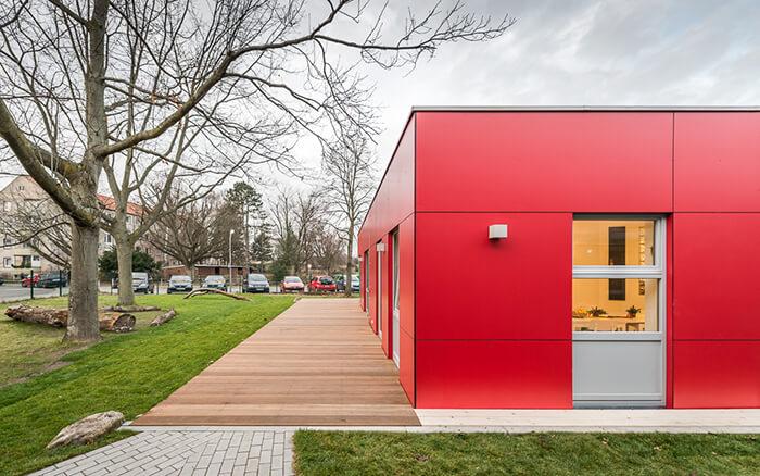Neubau Kita Helene Bresslau in Lübeck