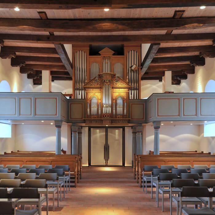 Sanierung Matthias-Claudius Kirche