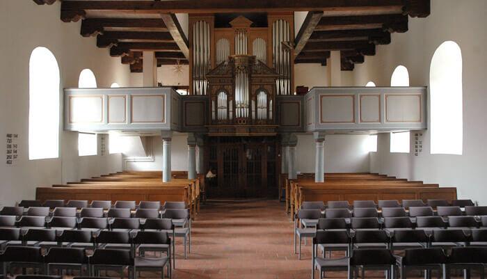 Sanierung Kirche in Reinfeld